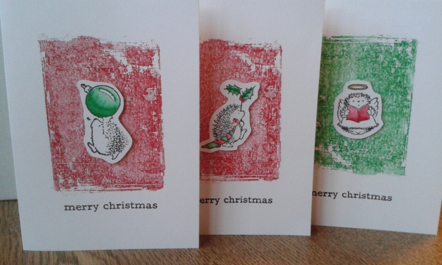 Penny Black Christmas cards