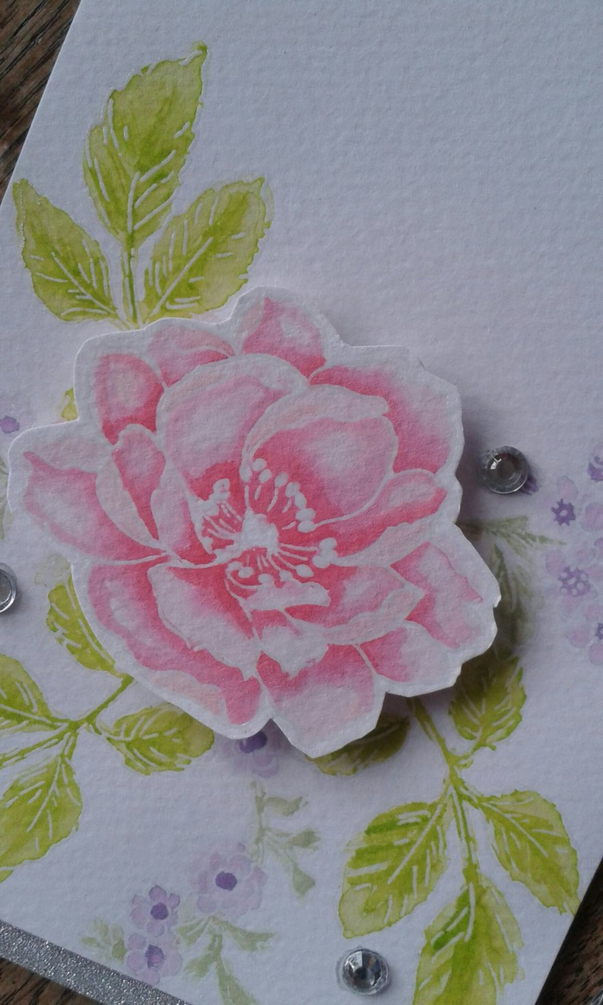 Card made using Altenew Beautiful Day stamps.